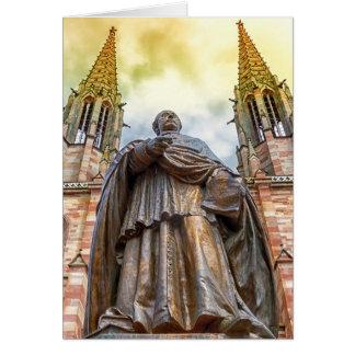Charles-Emile Freppel Statue, Obernai, Frankreich Karte