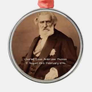 Charles Louis Ambroise Thomas Silbernes Ornament