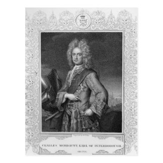Charles Mordaunt, Graf von Peterborough Postkarte