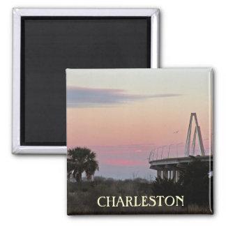 Charleston-Andenken-Foto-Magnet Quadratischer Magnet
