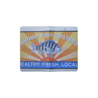 Charleston-Meeresfrüchte Moleskine Taschennotizbuch