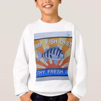 Charleston-Meeresfrüchte Sweatshirt