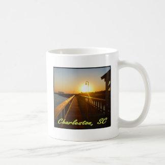 Charleston, Sc-Sonnenuntergang Kaffeetasse