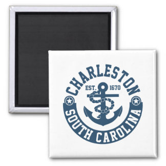 Charleston South Carolina Quadratischer Magnet
