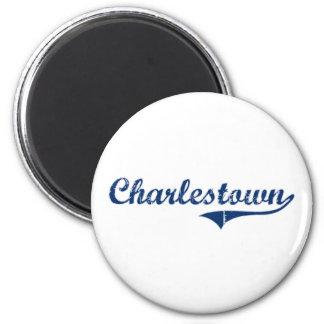 Charlestown klassischer Entwurf Runder Magnet 5,7 Cm