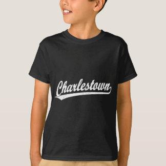 Charlestown Skriptlogo im Weiß Shirts