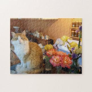 Charlie das Blumen-Kind Puzzle