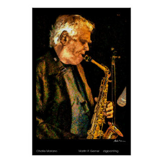 Charlie Mariano Poster