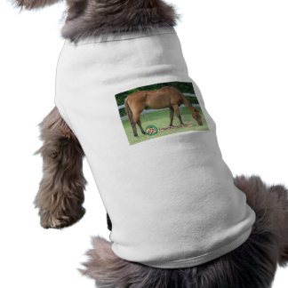 Charlie-Pferdehaustier-Kleidung Ärmelfreies Hunde-Shirt