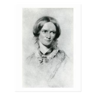 Charlotte Brontë-Porträt durch George Richmond Postkarten