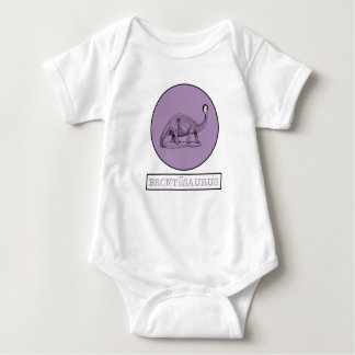 Charlotte Bronte - saurus Baby-Körper-Anzug Baby Strampler