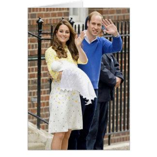 Charlotte Elizabeth Diana - Briten sind Kate Karte