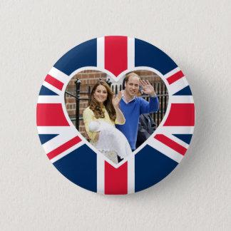 Charlotte Elizabeth Diana - Briten sind Kate Runder Button 5,1 Cm