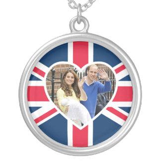 Charlotte Elizabeth Diana - Briten sind Kate Versilberte Kette