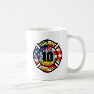 Charlotte-Feuerwehr-Stations-Nr. 10 Kaffeetasse