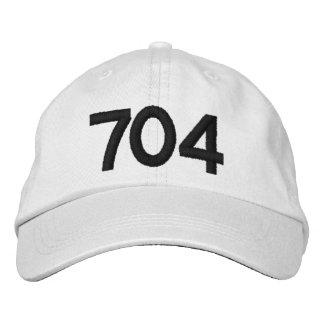 Charlotte NC, das 704 darstellt Bestickte Kappe
