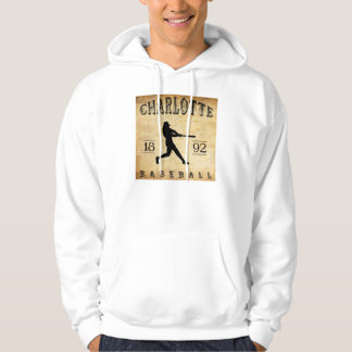 Charlotte-North Carolina-Baseball 1892 Hoodie
