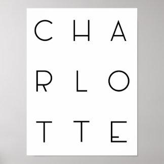 Charlotte-Plakat Poster