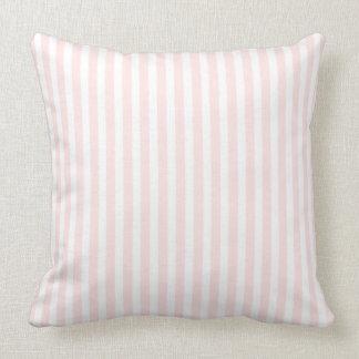 Charlotte-rosa und weiße kundenspezifische Jessica Kissen