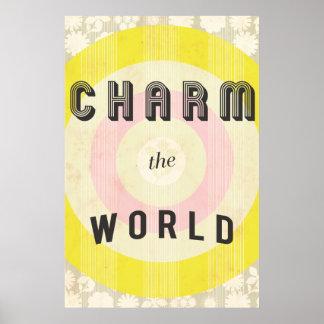Charme-Druck Poster