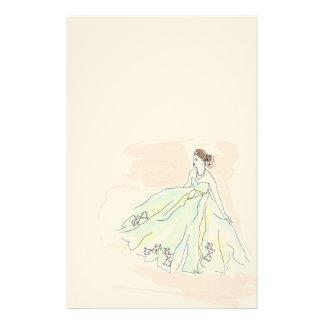 """Chartas der Liebe mit """"The lady """" Briefpapier"""
