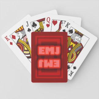 Chartas des Pokers spielt der Zauberer Spielkarten