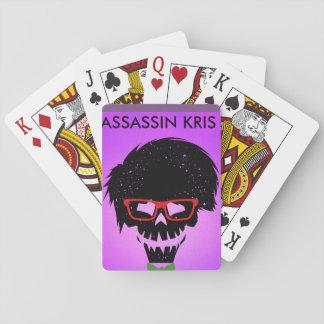 chartas von assassin kris spielkarten