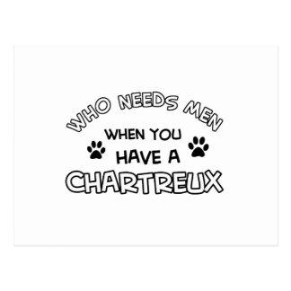 Chartreux Entwurf Postkarte