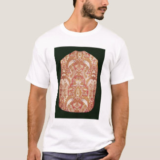 Chasuble, gemusterte Seide der Spitzes, Franzosen, T-Shirt
