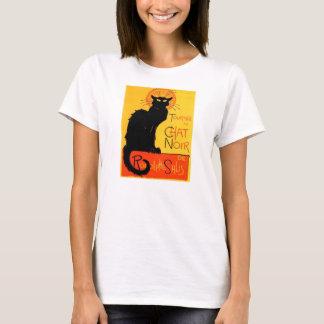 Chat-Noir… schwarze Katzen-Damen-Shirt T-Shirt