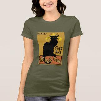 Chat Nola, schwarze Katze, 2010 T-Shirt