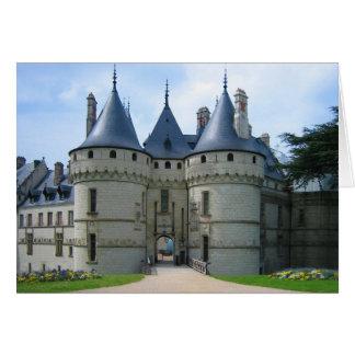 Château De Chaumont sur die Loire Karte