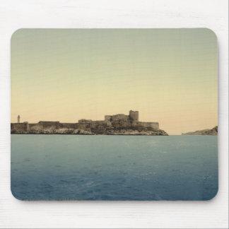 Chateau d'If, Marseille, Frankreich Mousepad