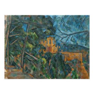 Chateau Noir, 1900-04 (Öl auf Leinwand) Poster