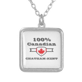 Chatham-Kent 100% Versilberte Kette