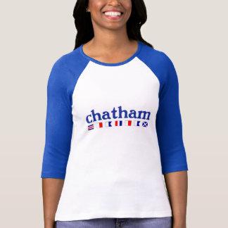 Chatham, MA - Maritme Rechtschreibung T-Shirt