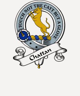 Chattan Clan-Abzeichen Shirts