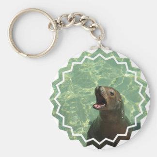 Chatty Seelöwe Keychain Schlüsselanhänger