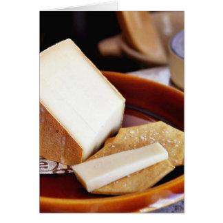 Chaubier Käse Karte