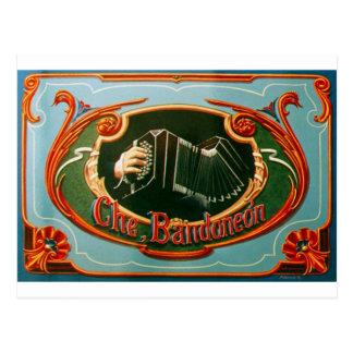 Che, bandoneon postkarte