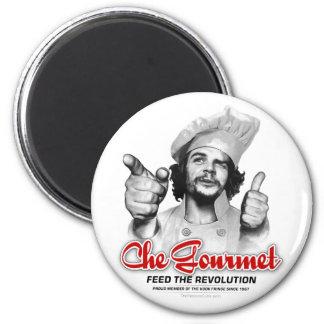 Che Feinschmecker füttern den Revolution Che Runder Magnet 5,1 Cm