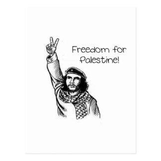 Che Guevara, Freiheit für Palästina! Postkarte