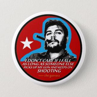 Che Guevara Runder Button 7,6 Cm