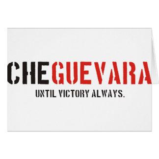 Che Guevaraprodukte u. -entwürfe! Karte