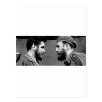 Che-y-Fidel Postkarte
