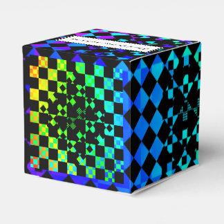 Checkered Drehung Geschenkschachtel
