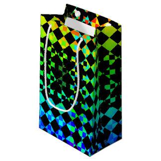 Checkered Drehung [S] Kleine Geschenktüte