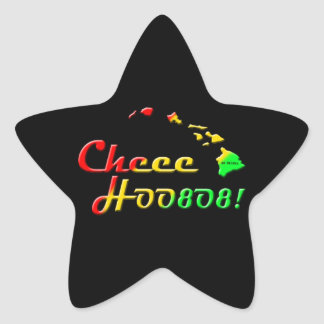 CHEE HOO Stern-Aufkleber