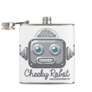 Cheeky Roboter Flachmann