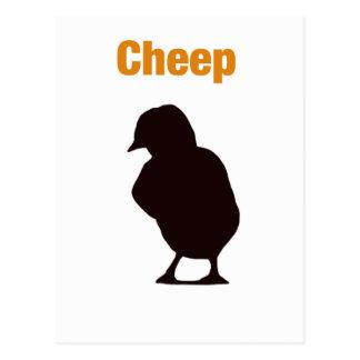 Cheep Postkarte